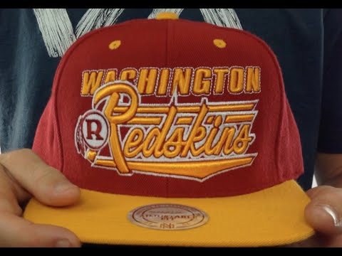Redskins  TAILSWEEP SNAPBACK  Burgundy-Gold Hat by Mitchell and Ness 6b573d7aa