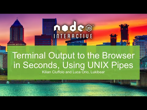 Terminal Output to the Browser in Seconds, Using UNIX Pipes