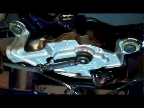 How to replace the rear wiper  motor on the Range Rover L322 / MK III