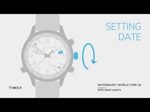TIMEX WORLD TIME - SETTING DATE - HOW TO VIDEO