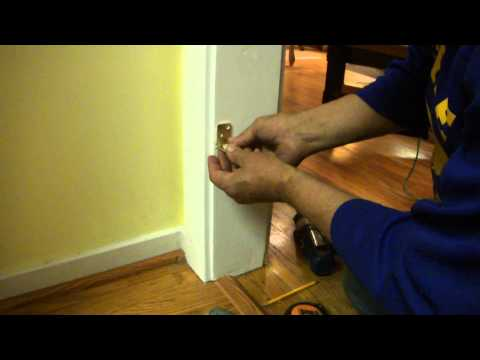 How To Install A Swinging Door