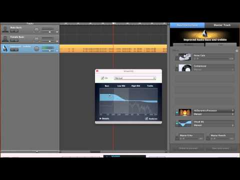 How to improve audio for speech with Garage Band