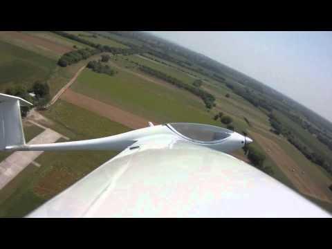 ASW 28 loop and crash