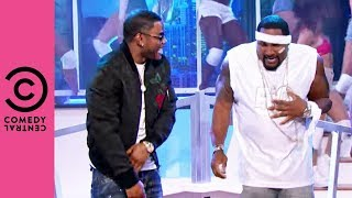 """Ray Lewis Is Getting """"Hot In Herre"""" 