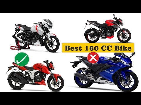 BEST 160CC Bikes in India 2019, Apache RTR 160 4V, Pulsar