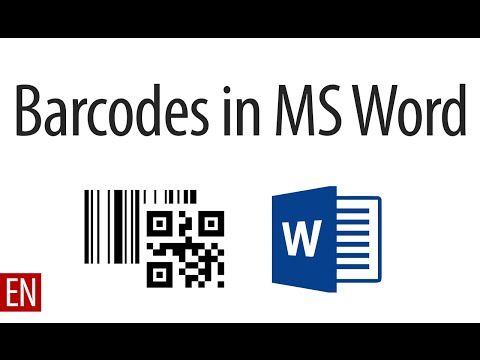 Barcode Add-In for Microsoft Word