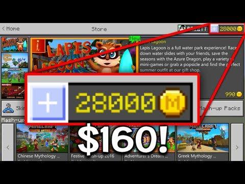 28,000 Coins in Minecraft Pocket Edition ($160)