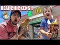 MCDONALDS SOLD ME REAL CHICKENS FV Family Vlog