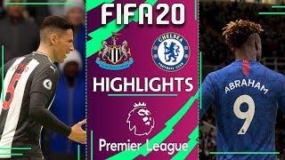 Newcastle vs Chelsea | FIFA 20 PREMIER LEAGUE 2019/20 | Gameweek 23 Highlights