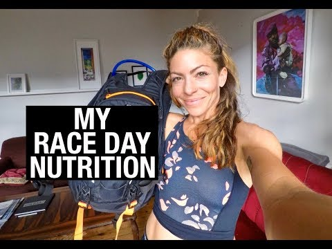 My Race Day Nutrition | Kym Nonstop