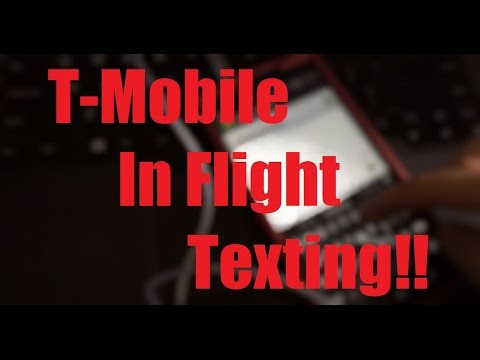 T-Mobile: Testing In-Flight Texting for FREE with gogoinflight at 30,000 feet