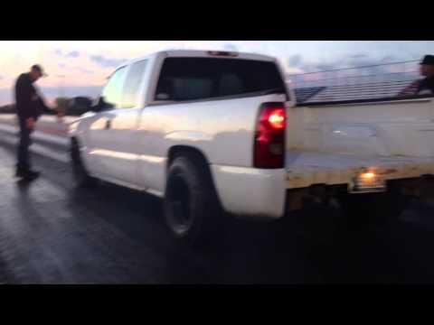Fastest 99+ Chevy Silverado extended cab Thunder Valley Raceway Park 11-3-12
