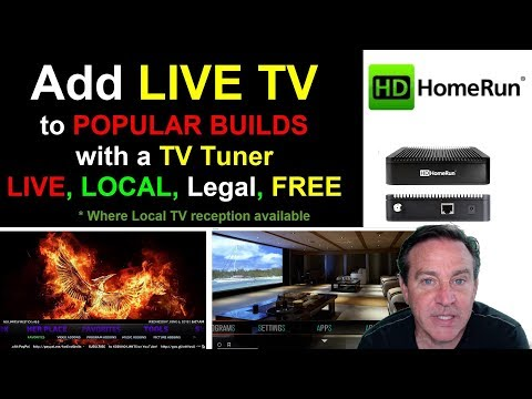 Add LIVE TV to KODI with a TV Tuner - It's Live, Local, Legal and Free - android, PC, FireStick
