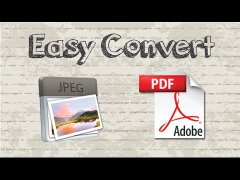 How to Convert JPG to PDF on Mac / Windows