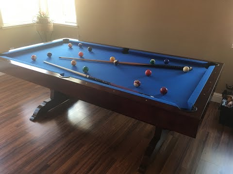 2 in 1 dining and pool table