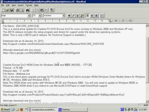 decodificador de dvd para windows xp