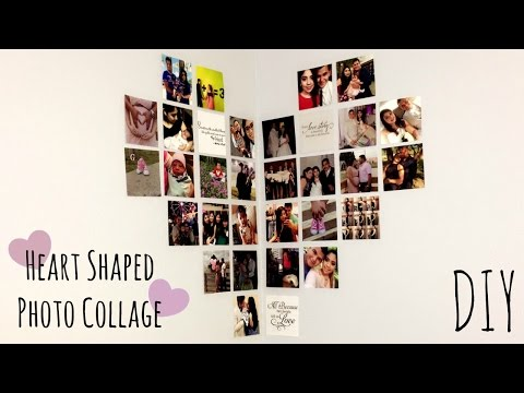 Heart Shaped Collage | DIY ❤🌍