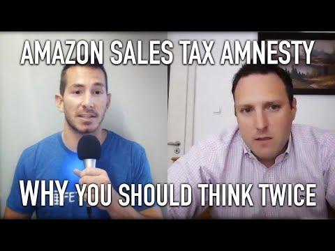 Amazon SALES TAX 🏦   Amnesty I Jungle Scout