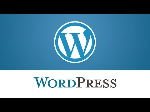 WordPress. How To Change