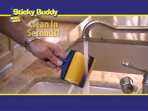 Sticky Buddy - The Reusable Sticky Lint Roller!