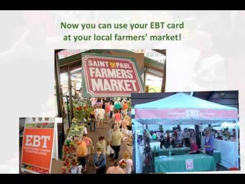 Using EBT at Farmers Markets
