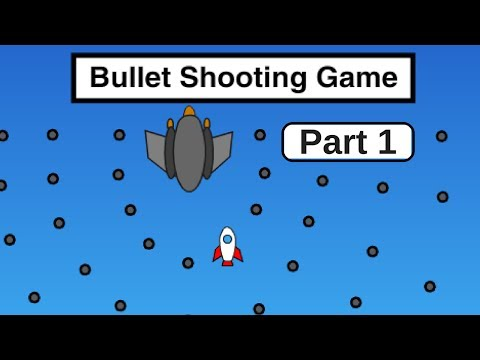 Scratch Tutorial: How to Make a Bullet Shooter Battle Game (With Pen Health Bar)
