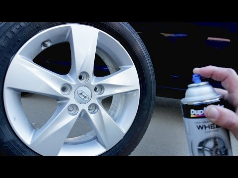 How To Spray Paint Wheels Like a PRO!