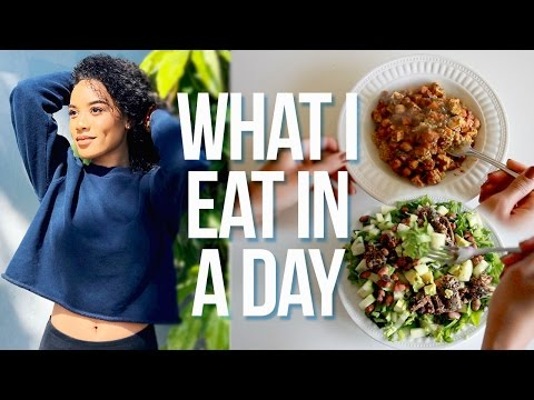 What I Eat In A Day 🍴 For Health + Hair Growth