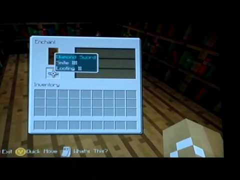 How to get better levels on the enchantment table on minecraft xbox 360