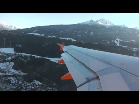 EasyJet Airbus A319-111 | Innsbruck to London Gatwick *Full Flight*