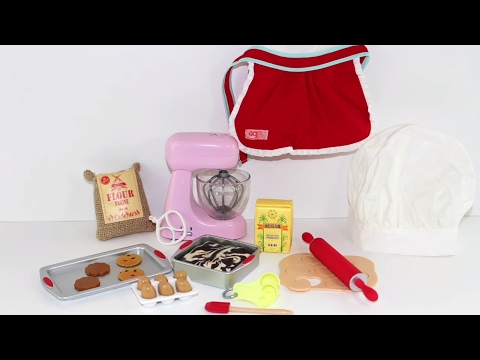 American Girl Doll Master Baker Playset Review