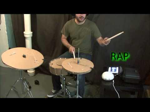 concept du drum carton/cardboard drum concept/cartone tamburo