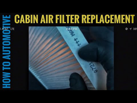 How to Replace the Cabin Air Filter on a 2013 Nissan Pathfinder