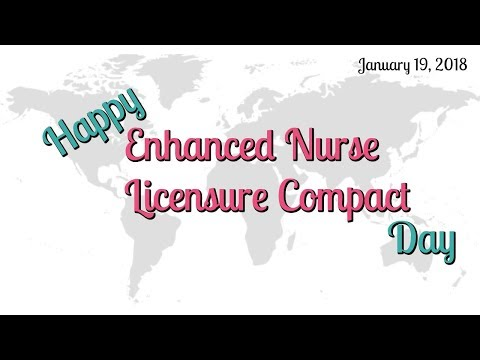 IT'S OFFICIALLY HERE!! HAPPY eNLC DAY TO MY TRAVEL NURSES