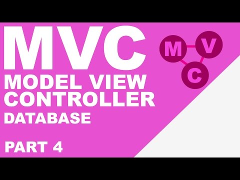 Simple MVC in PHP (4/4) - Databases