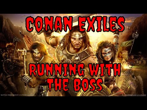 Conan Exiles With The Boss ep 1 Streamed on 5/3/2018