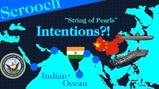 What are China's intentions on Indian Ocean : String of Pearls, Explained.