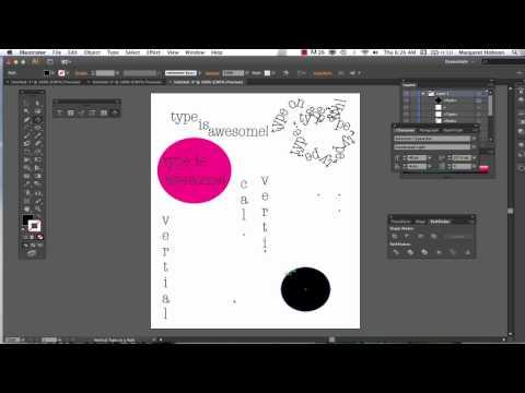 Type in Illustrator CS6