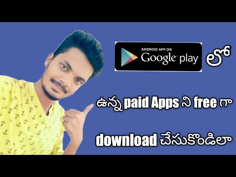 How to download playstore paid apps for free In telugu || bye srikanth