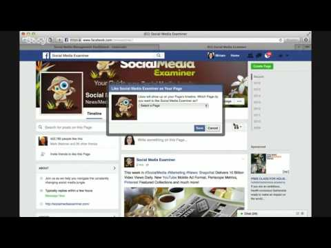 How to Find and Follow Pages from Your Facebook Business Page