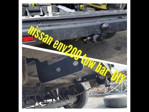 Nissan env200 van tow bar DIY how to