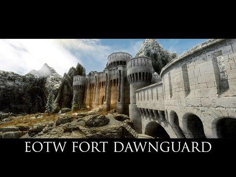 TES V - Skyrim Mods: EotW Fort Dawnguard