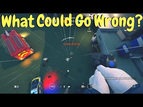 Jumping off the Plane in Rainbow Six Siege