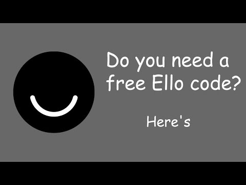 How to Get Free Ello Invitation Codes