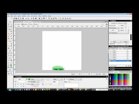 How To Create an Animated GIF in Adobe Fireworks
