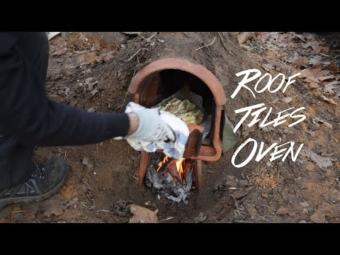 Baking Bread - Roof Tiles Oven