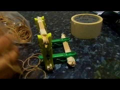 How to make a DIY Homemade Catapult!