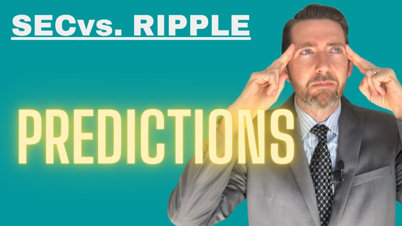 Attorney Jeremy Hogan gives PREDICTIONS for SEC v. Ripple: 3 Pending Motions and Settlement Time!
