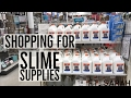 Shopping For Slime Supplies!! (Ft. Sarah)
