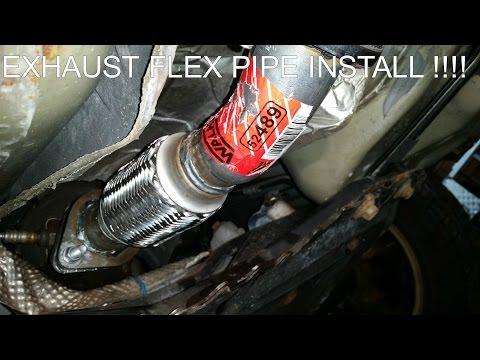 FLEX PIPE EXHAUST REPAIR !! EASY DIY !!!!